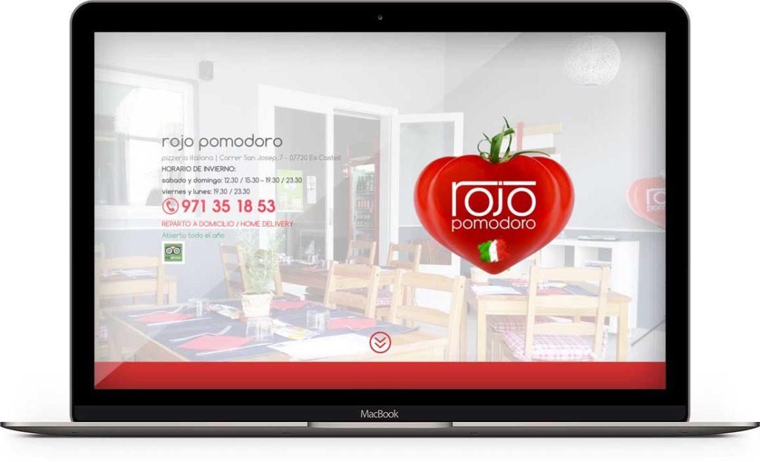 rojo pomodoro ristorante a minorca - Baleari Spagna