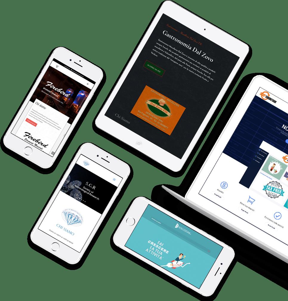 Creazione sito web professionale personalizzato 1